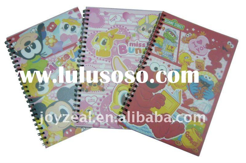 Kids Recycled Paper Diary Journal Spiral Notebook