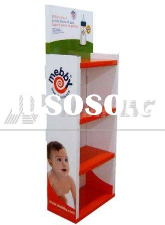 Light box display, baby accessories display stand,foods paper display,POP Display for tools