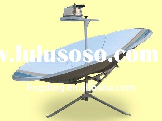 Lingding Portable Parabolic Solar Cooker/BBQ with High Efficiency