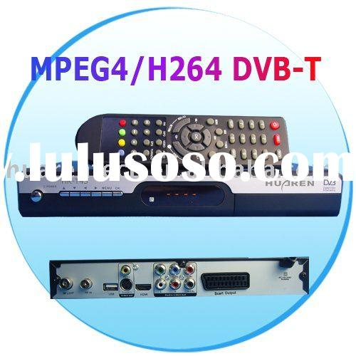 MPEG4 H.264 DVB-T HDTV Set Top Box