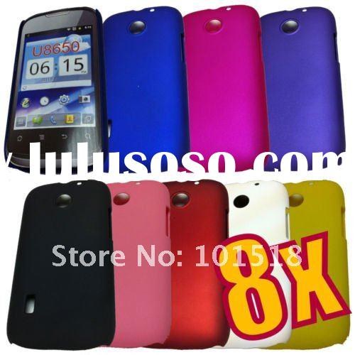 Newest Rubberized Hard Plastic Cover Case for Huawei Sonic U8650
