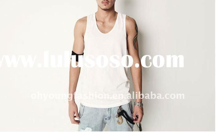 OEM service factory price 100 cotton simple styles plain dyed tank tops in bulk for cheap