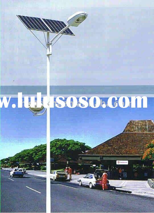 Outdoor LED solar flood lighting
