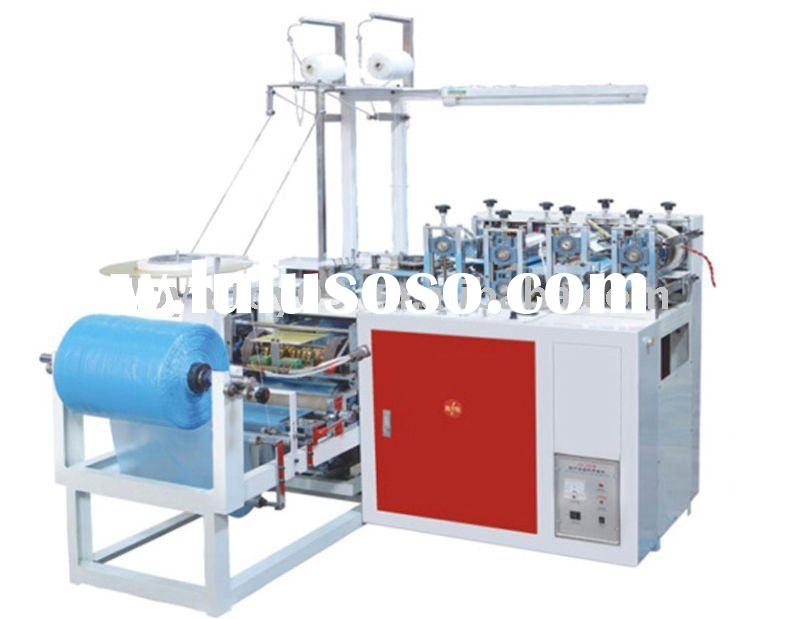PE/CPE Round Rubber Band Shoe Cover Making Machine