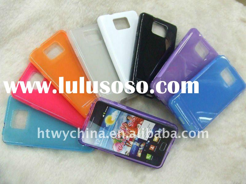 Personalized Korea version tpu case for samsung i9100 galaxy s2, VIVID shiny surface!!