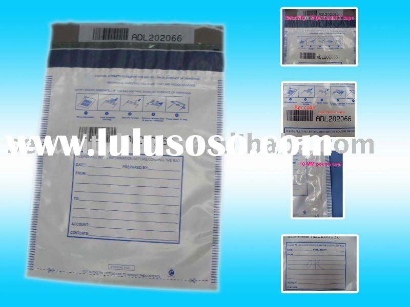 Plastic LDPE A4 envelope size Tamper Proof Security Bags