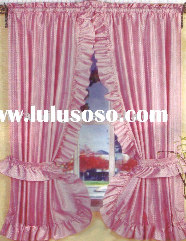 Solid Lace Double-Swag Shower Curtain for sale - Price ...