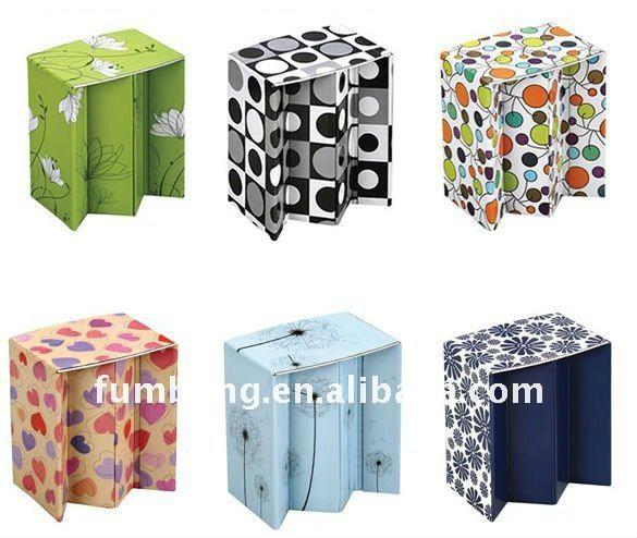 Portable Folding Paper Stool Paper Chair For Sale Price