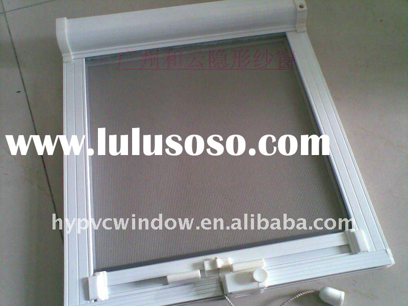 Retractable invisible fly screen window for sale price for Invisible fly screen doors