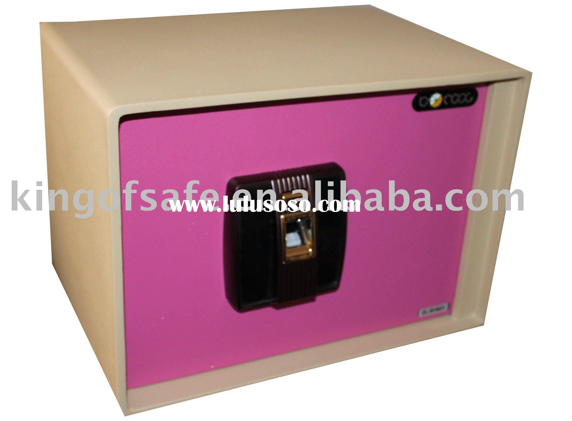 Safe Box,Fingerprint Safe Deposit Box, Electronic Safe