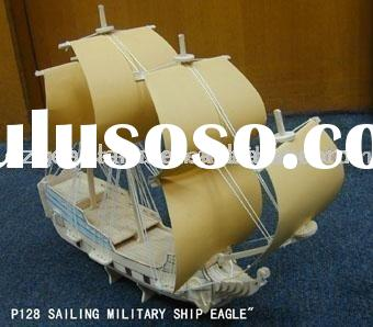 Sailing Military ship Eagle