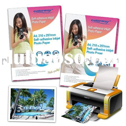 Self-Adhesive High Glossy Photo Paper(Sticker), professional manufacturer