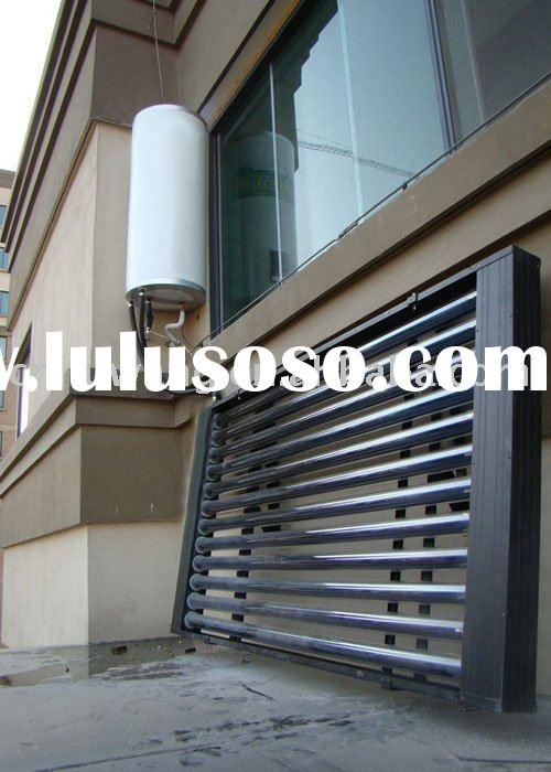 Separated pressurized solar water heater collector