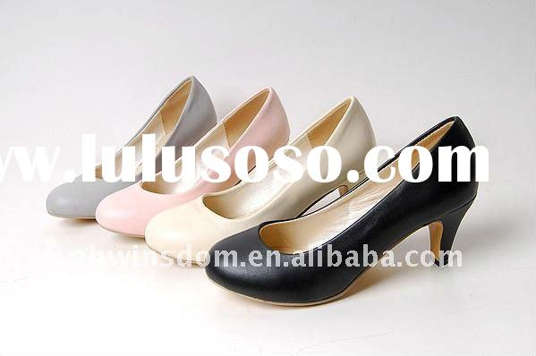Spring and autumn office lady's new style high heel shoes