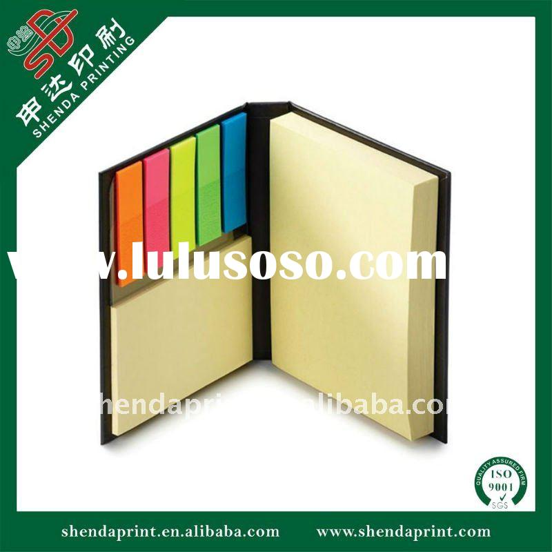Sticky Notepad Memo Note with PET Index Flags SDMP-110004