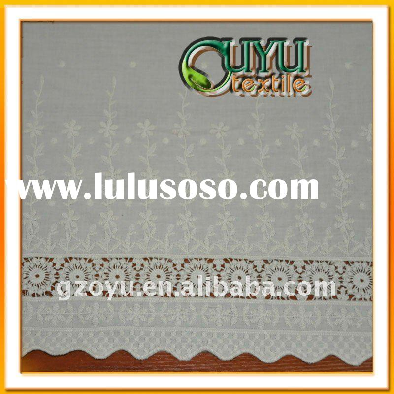 Swiss cotton voile lace