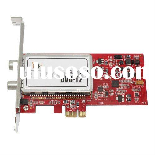 TBS6280 PCI-E DVB-T2/T Dual Tuner Card, DVB-T, DVB-T2, TV channels on computer, Freesat, freeview