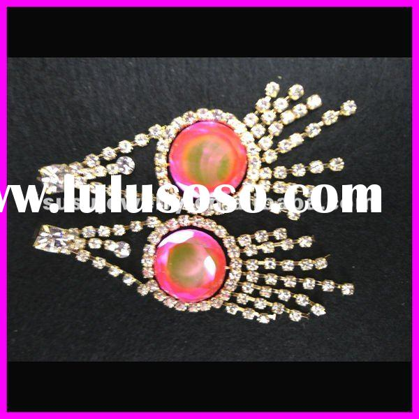 WOW!!! 2012 HOT-SELLING LATEST DESIGN fashion design hanging earrings