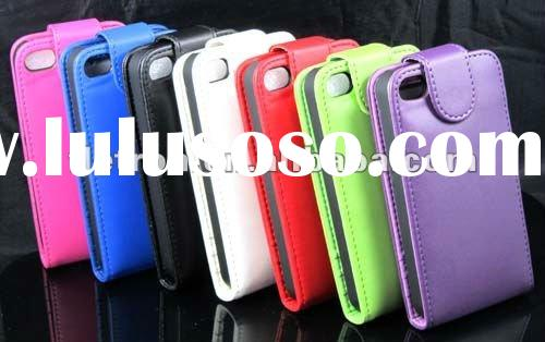 Wallet Leather Case with ID Card Holder leather case For iphone 4s