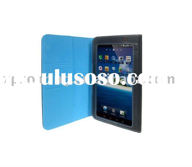 Wallet leather case back cover for Samsung Galaxy Tab P1000
