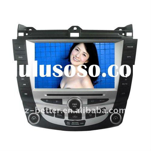 (hot sell ) 7in double din special car dvd for honda accord (2006-2007) with gps , bluetooth,Radio