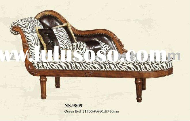 Antique leather chaise lounge for sale price china for Antique chaise lounge prices