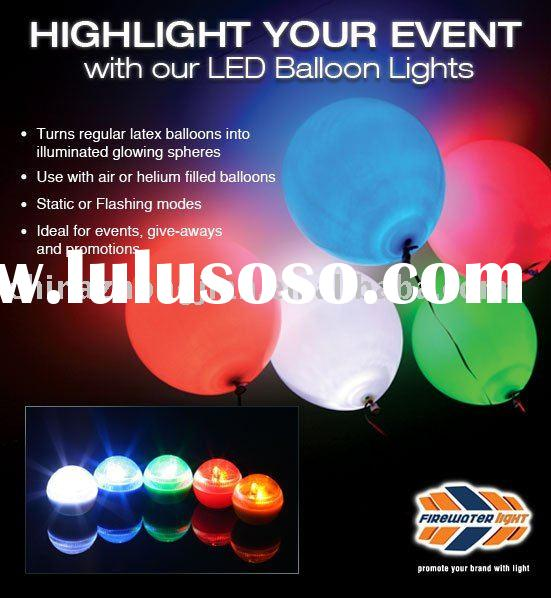balloons with led lights wholesale lighted helium balloon manufacter