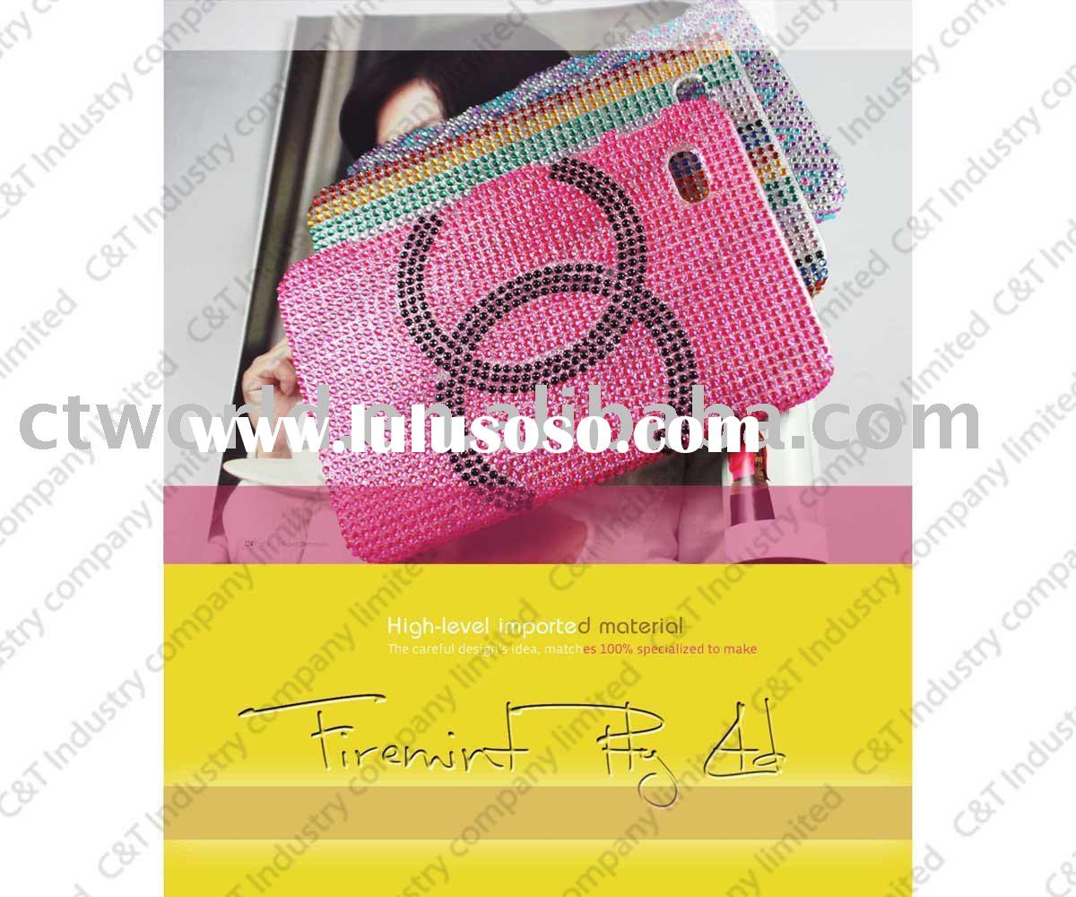 bling diamond hard case for Galaxy TAB , with dazzling design