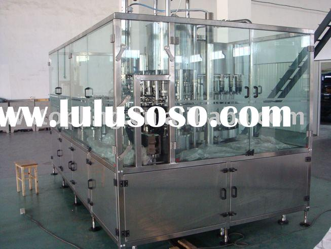coke filling line/ bottle washing, filling, capping three functions
