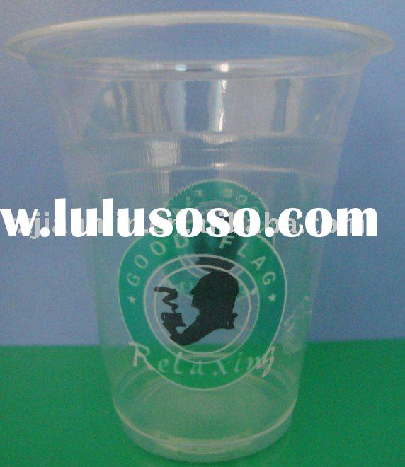 color printed Plastic cup 360ml