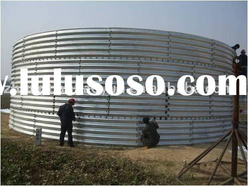 corrugated galvanized culvert pipe