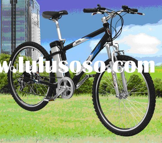 e bicycle,36V/8Ah Lithium battery,Alloy frame, 5-class Shimano speed gear
