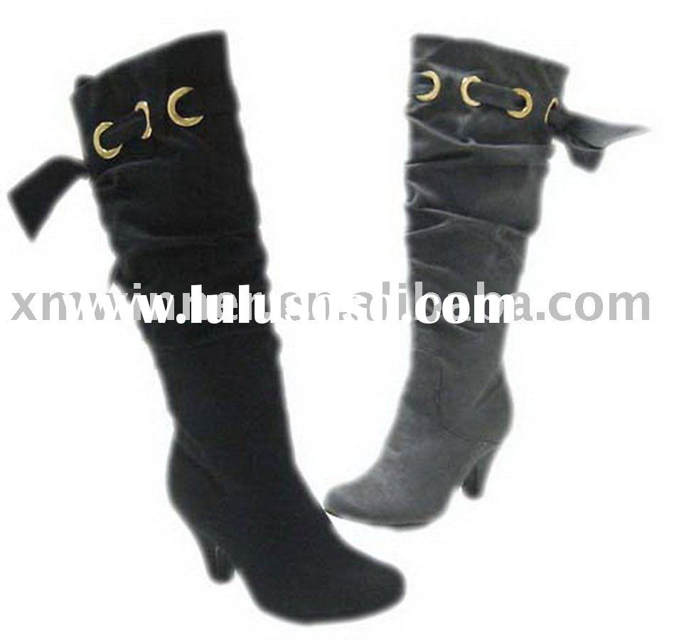 elegant lady high heel boots