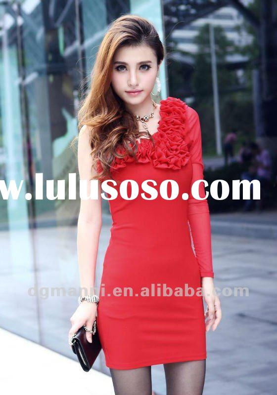 factory top sell new prom party wedding casual wholesale evening dress 2012