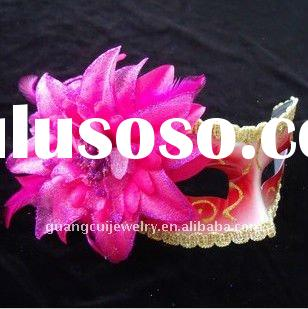 fashion flower paintball face soothing eye cheap party masks