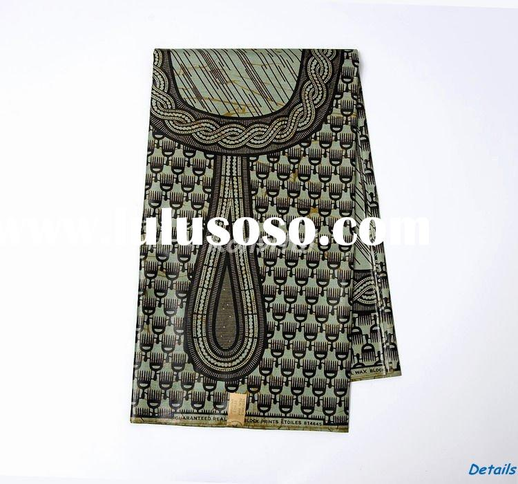 fashion veritable african clothing wax print fabric wholesale 057W