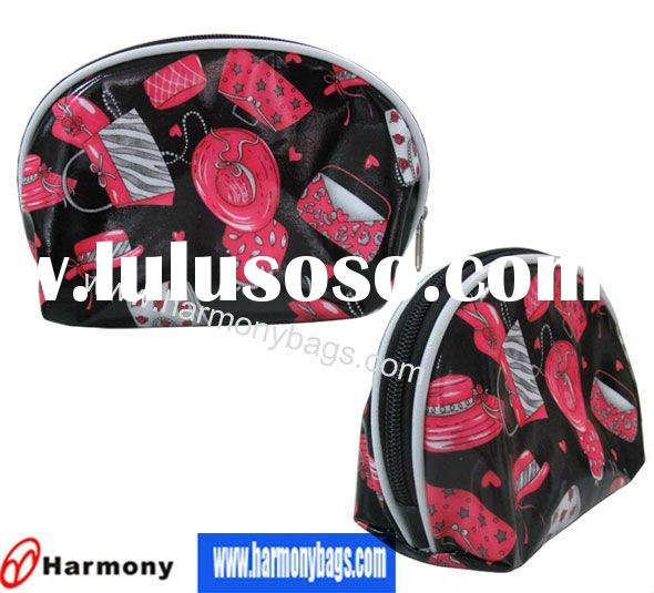 flower pattern cosmetic bag