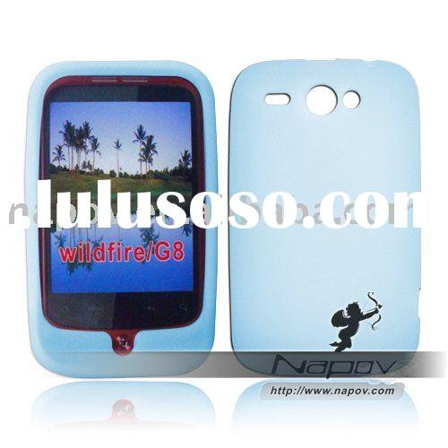 for HTC wildfire case , high quality silicon