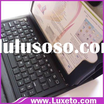 for ipad 2 bluetooth keyboard leather case