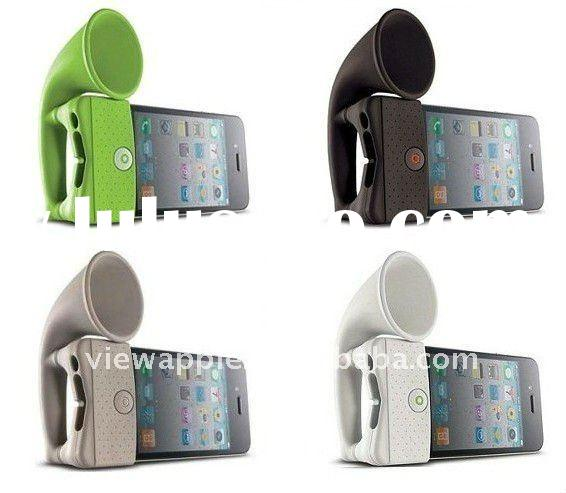 for iphone 4g silicone horn stand case