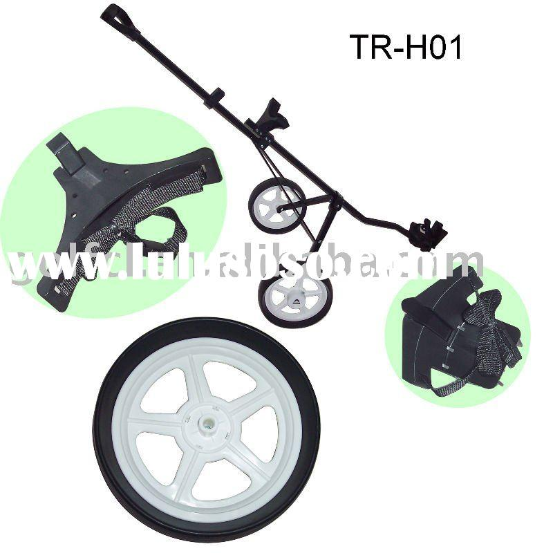 golf caddy - Hand trolley, it can be disassembled. With two wheels