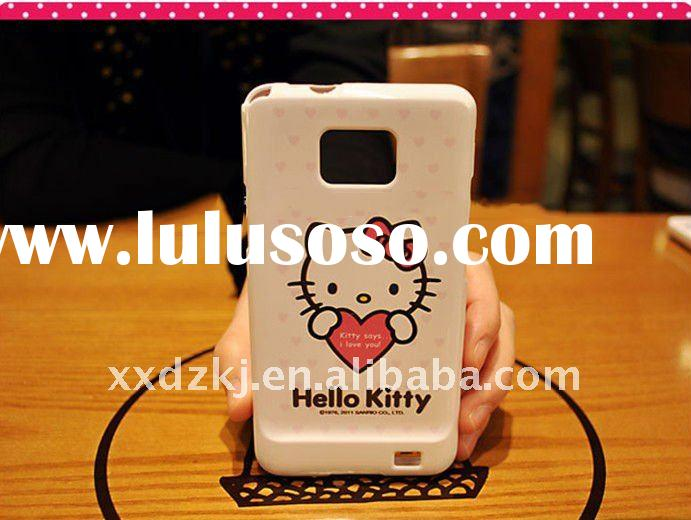 hello kitty silicone case for samsung i9100 galaxy s2