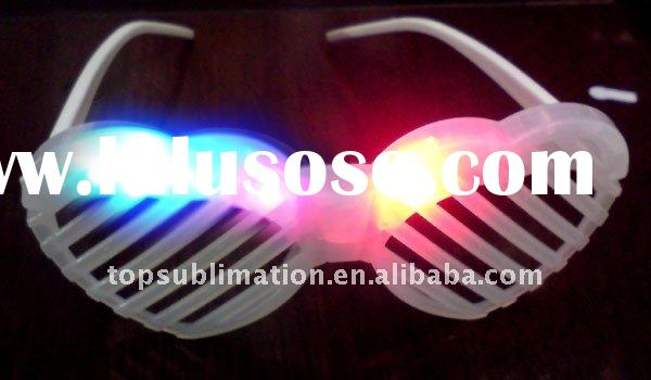 hot sale LED flashing sunglasses for party
