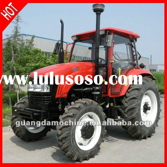 hot sale high power 100HP 4WD Chinese tractor for farming with cab