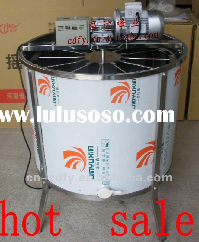 hot sale mirror face stainless steel 12 frames electric honey extractor