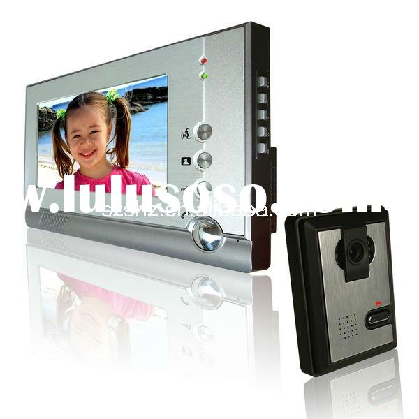 hot selling 7'' color techno phone video door phone