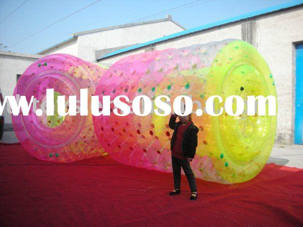 inflatable zorbing ball,inflatable water roller,(competive price)
