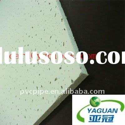 insulation fiber /heat resistant mineral fiber ceiling board/ production boards