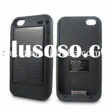iphone 4 solar battery case 2400mAh
