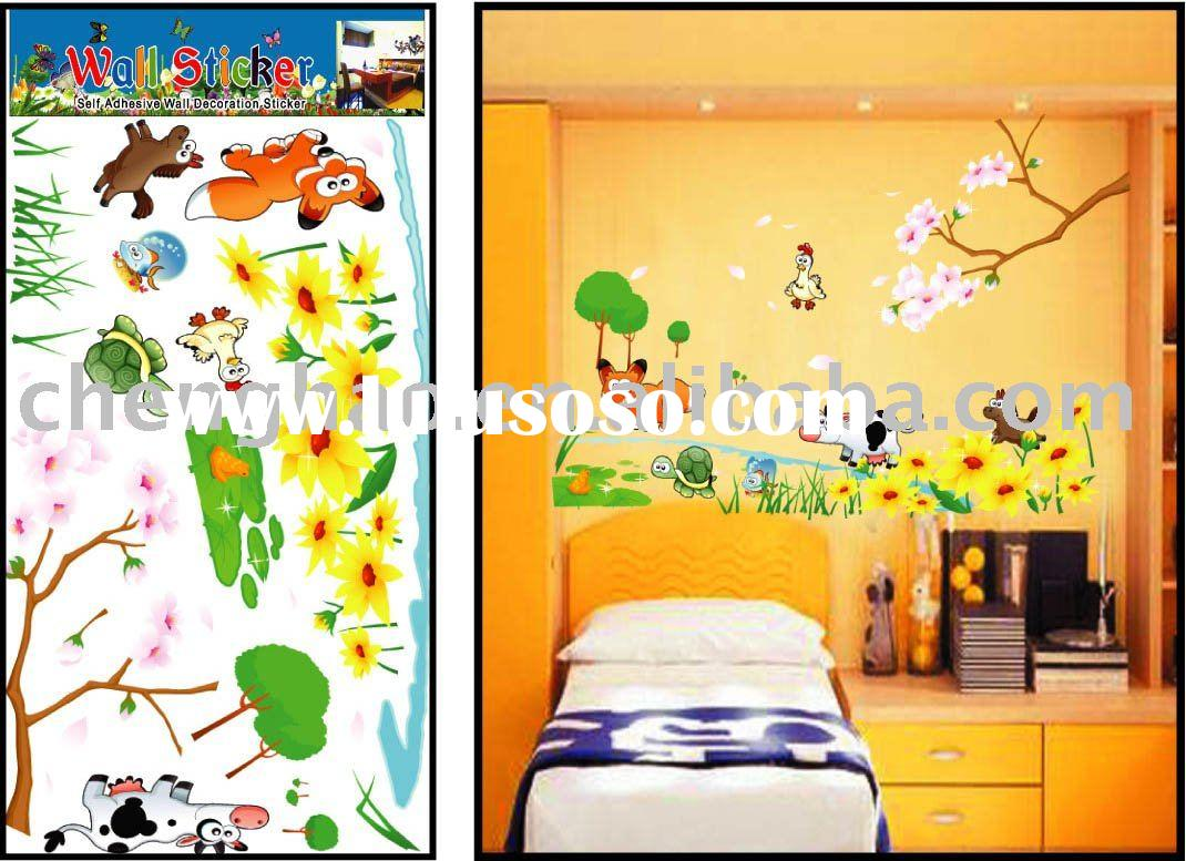 kids wall cartoon sticker